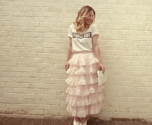 de2ed756dbba The Skirt that will Ruffle your Feathers. | Styling Out The School Run